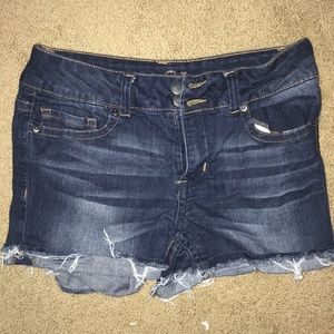 Rue 21 blue jean shorts. perfect condition